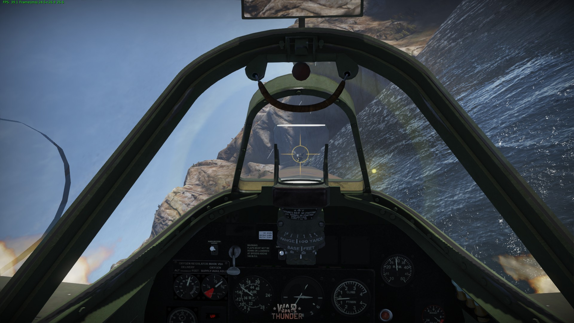 War Thunder Spitfire Cockpit Kill By Skyfighter64 On Deviantart