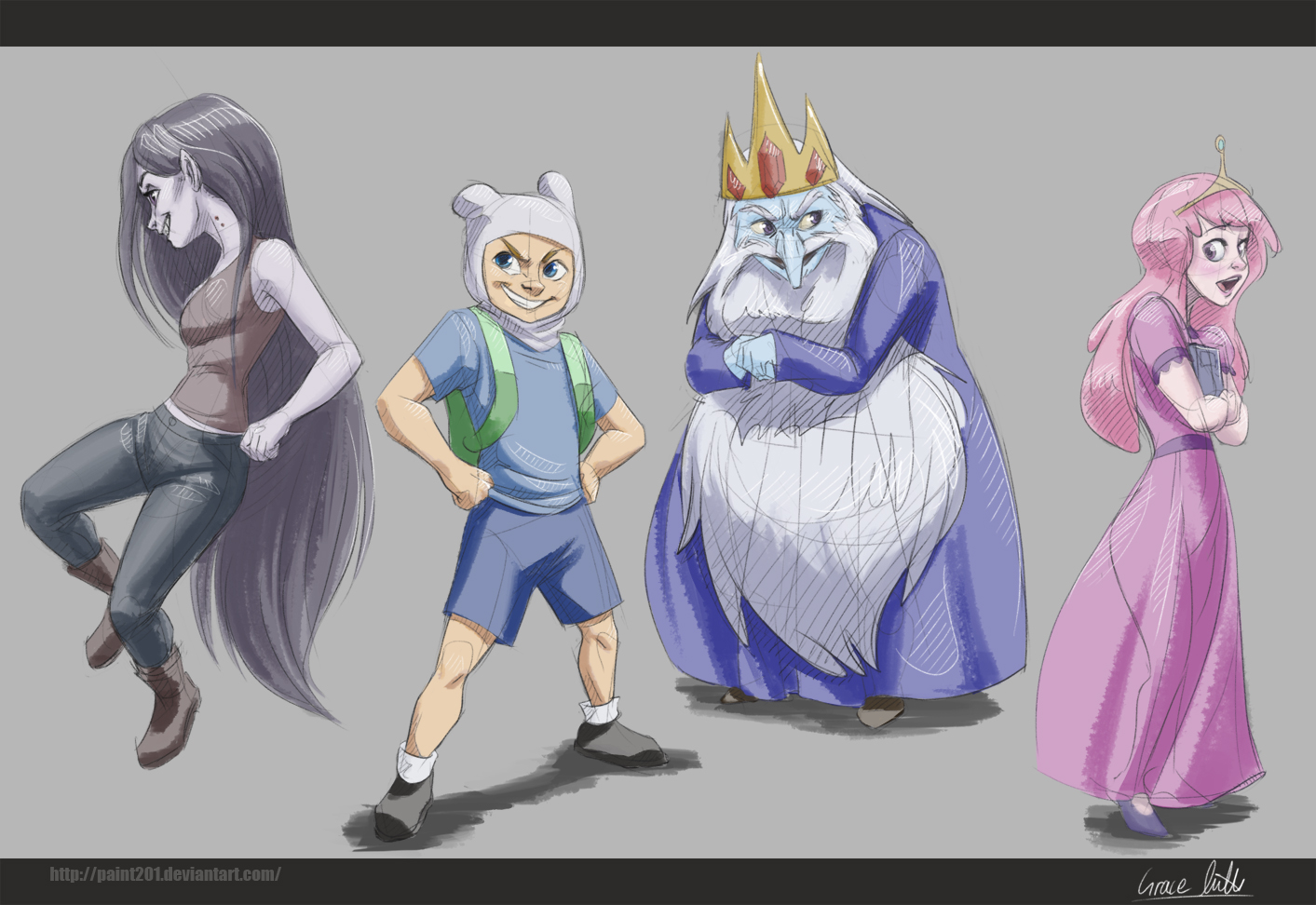 Adventure Time by Paint201