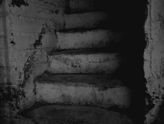 creepy basement stairs by stehfeee on deviantart
