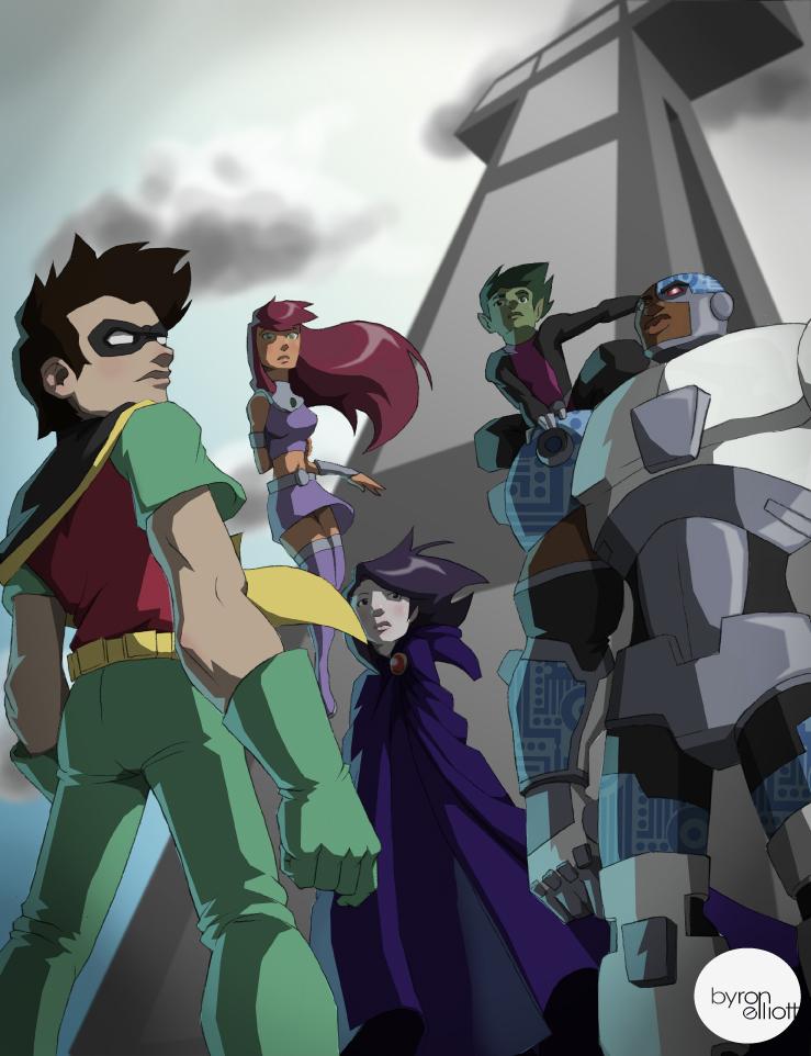 Teen Titans GO by byronelliott88