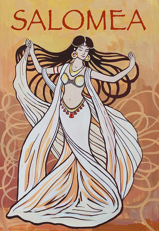 Salomea's dance by goraakkaya