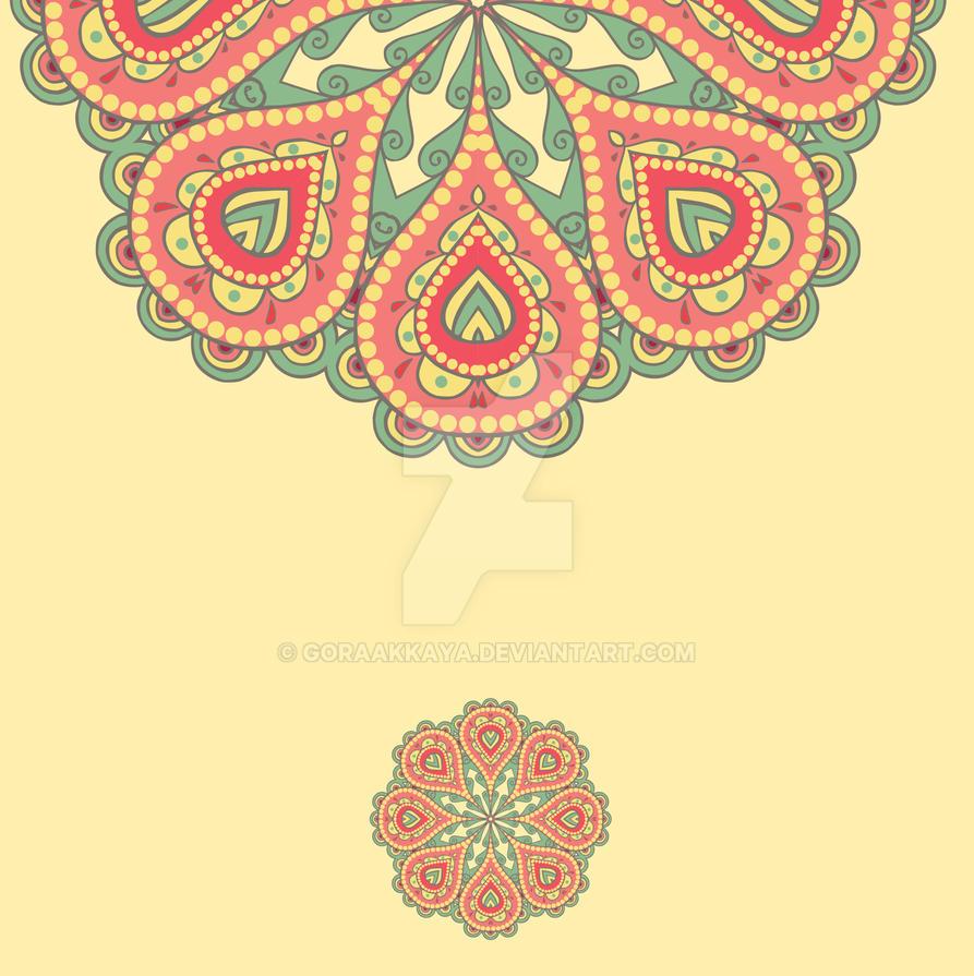 Template frame design for card. by goraakkaya