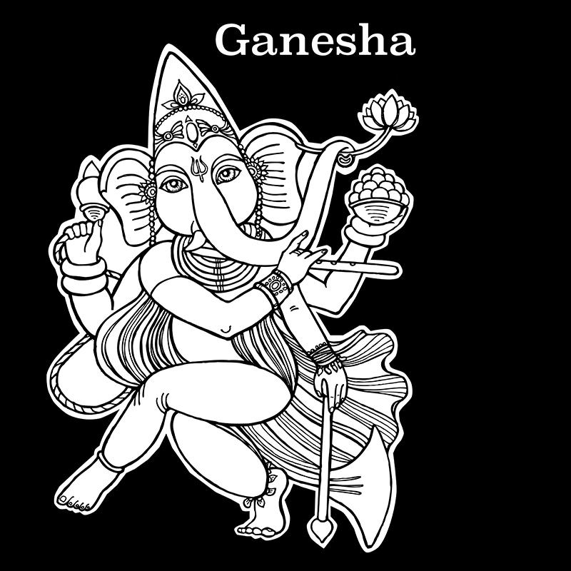 Ganesha by goraakkaya