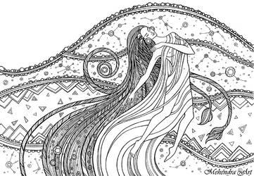 Cosmic spirit by goraakkaya
