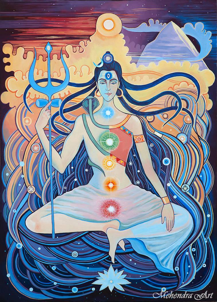 Shiva and Shakti. by goraakkaya