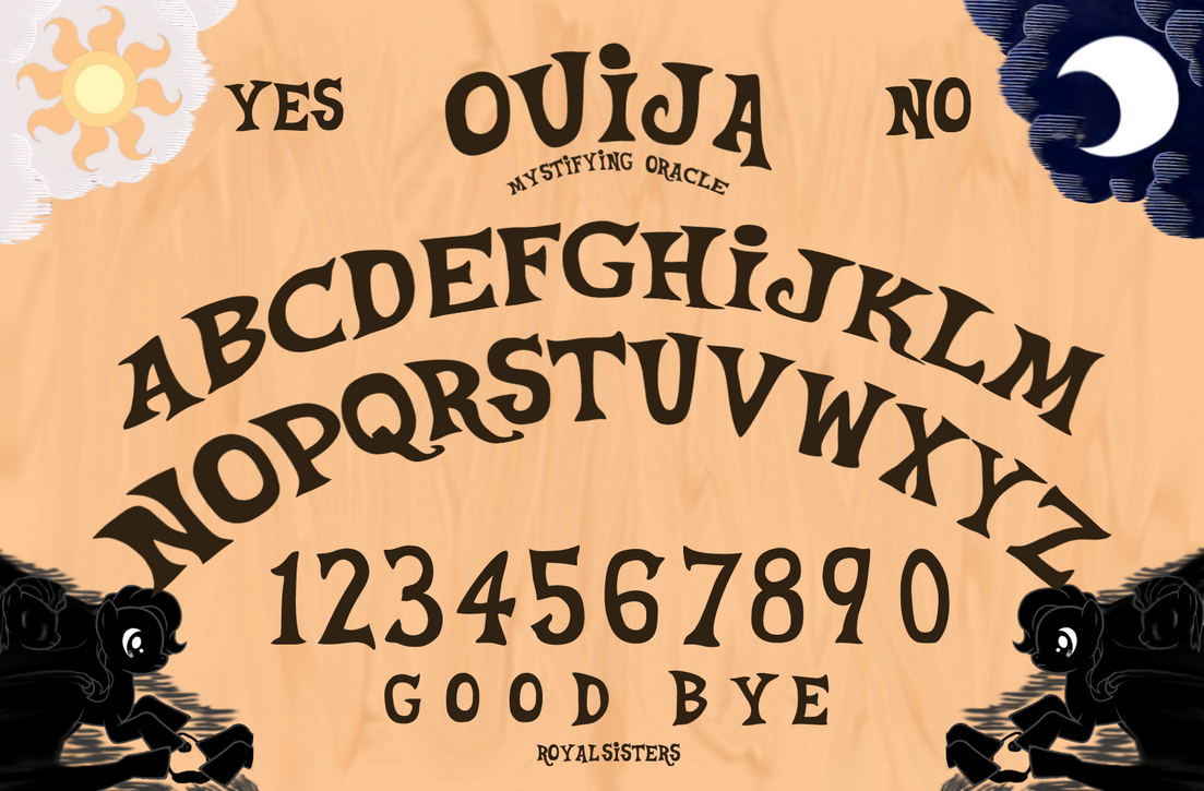how to start a ouija bored