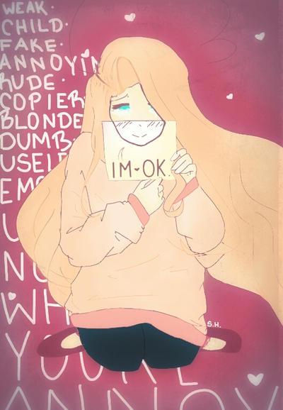 I'm  Ok by ShirotheLittleFox