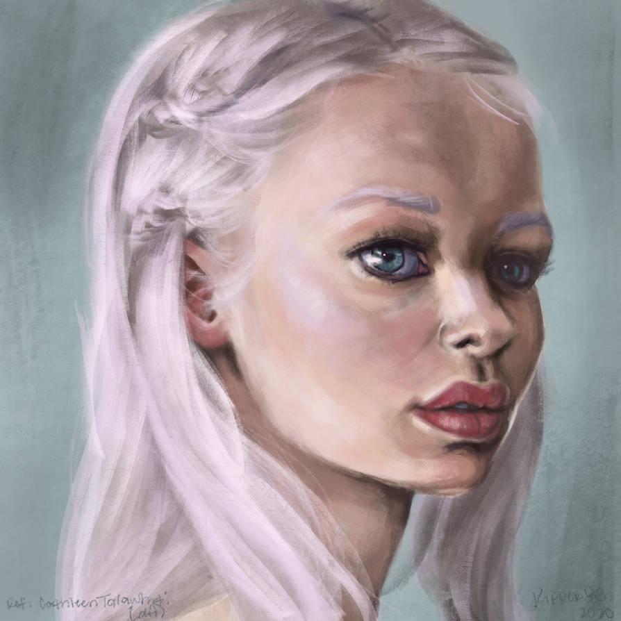 Procreate Portrait Practice #1