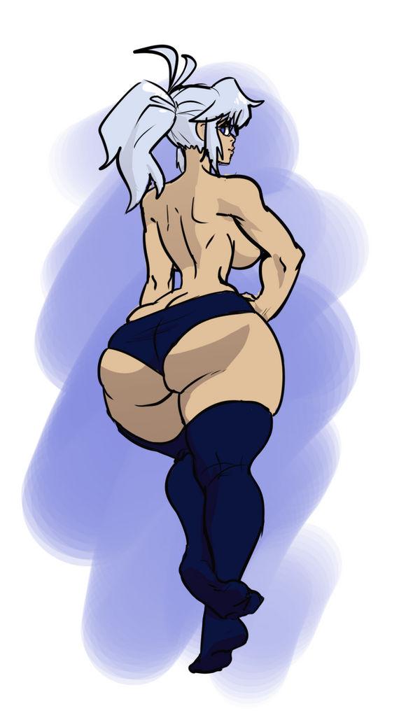 just a butt by dizzyornot