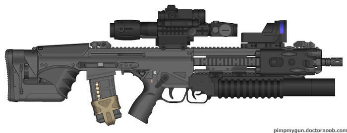 Bullpup AR 2