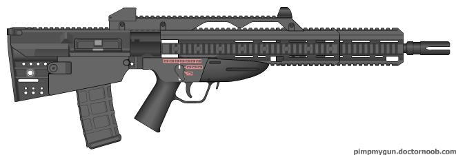 Bullpup Concept Rifle