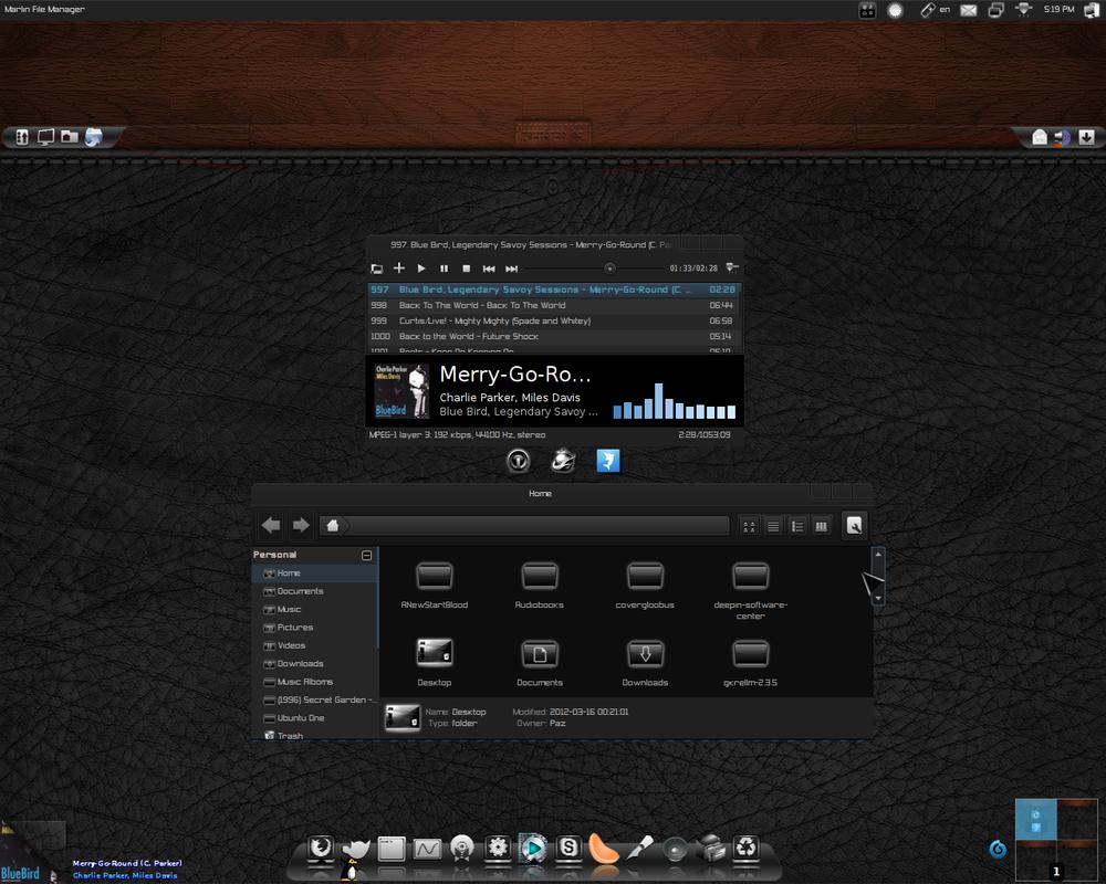 BlueBird _ Ubuntu Oneiric by Paz-1