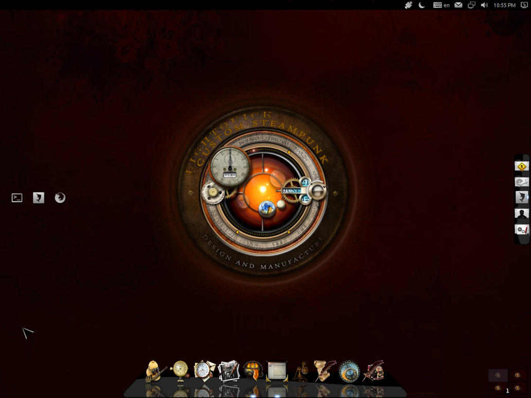 Ubuntu Precise Pangolin by Paz-1