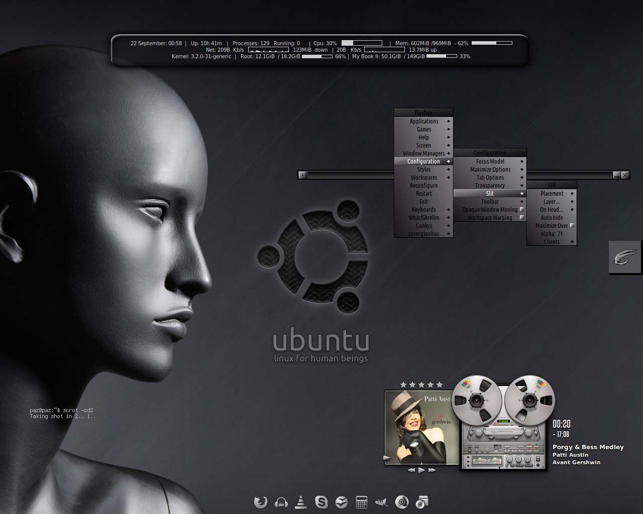 Ubuntu For Real :) Inspired by  Teac  by ~pitkon by Paz-1