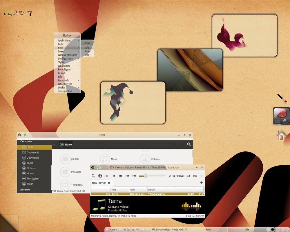 Desktop Art fluxie - a bit busier.. by Paz-1