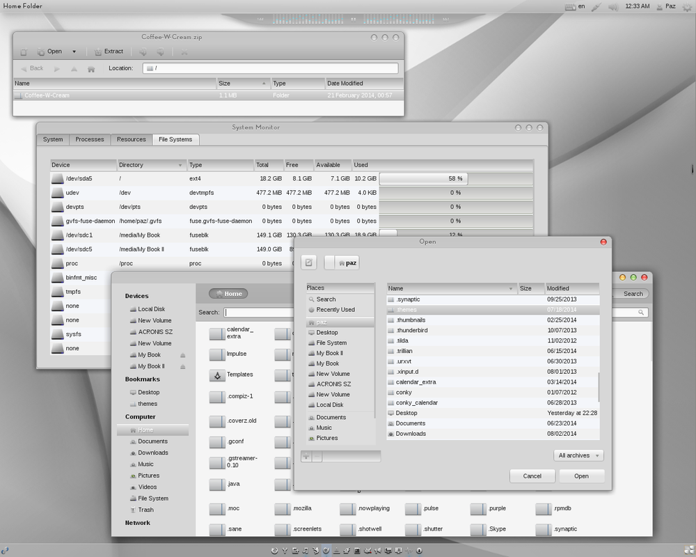 Adwaita Cupertino LMine - work in progress II by Paz-1