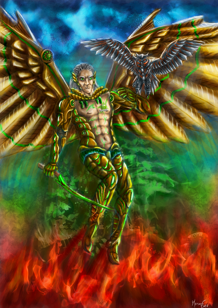 Geforce angel by CyberSachmet