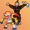 Pokemon-Sprites: Zhao by DeMorien