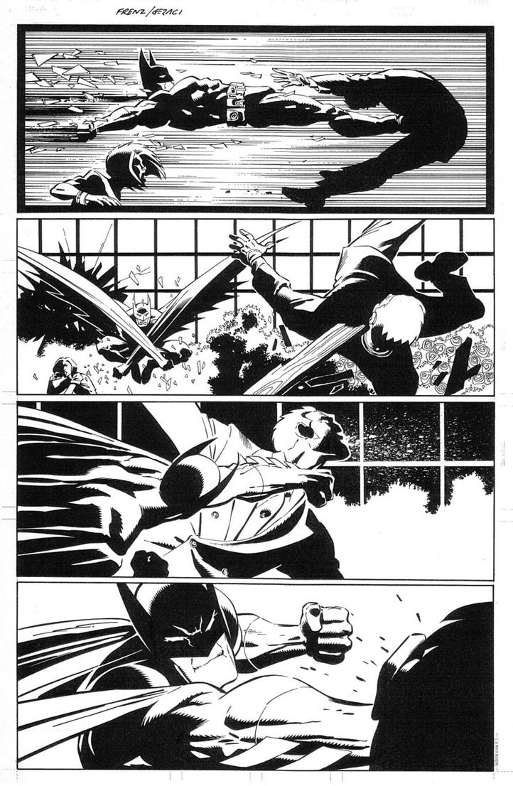 Batman in Action by DrewGeraci