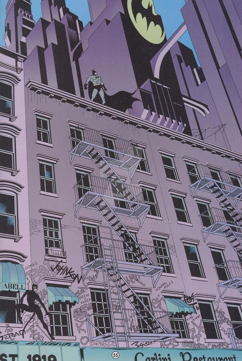 Batman (Legends of the Dark Knight) - 100th Issue by DrewGeraci
