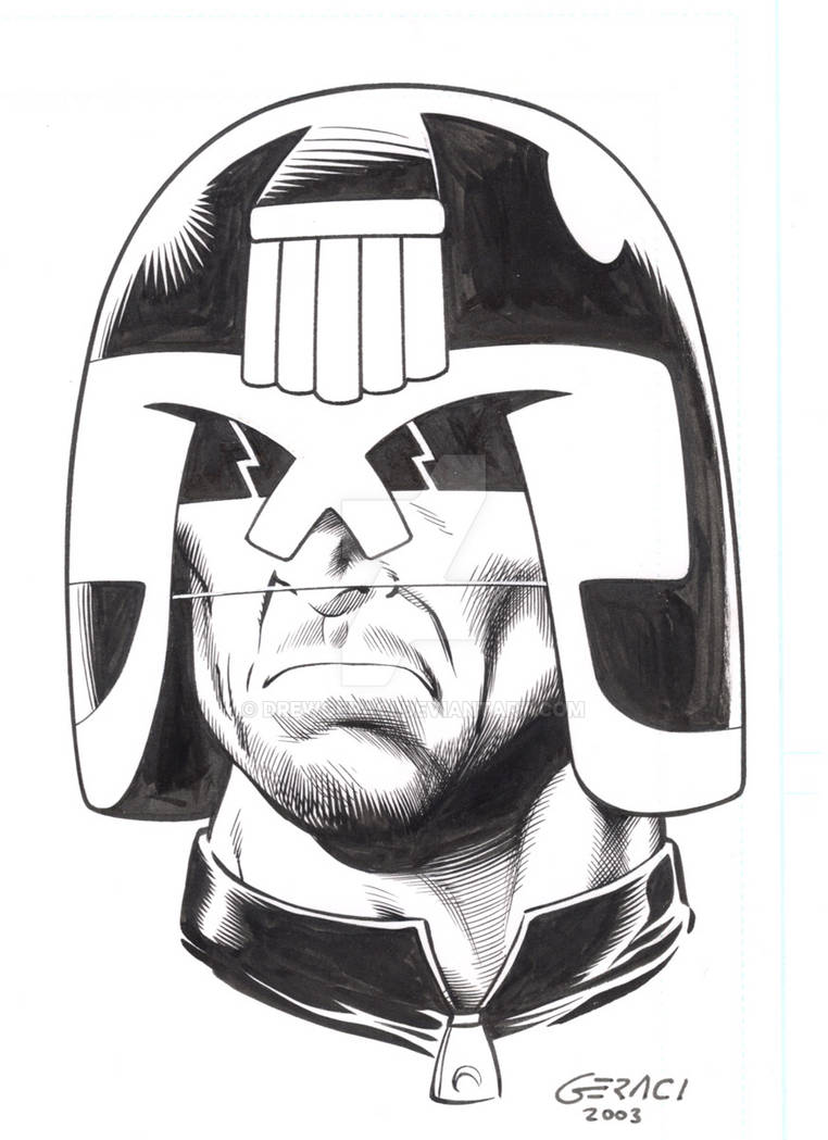 Judge Dredd by DrewGeraci