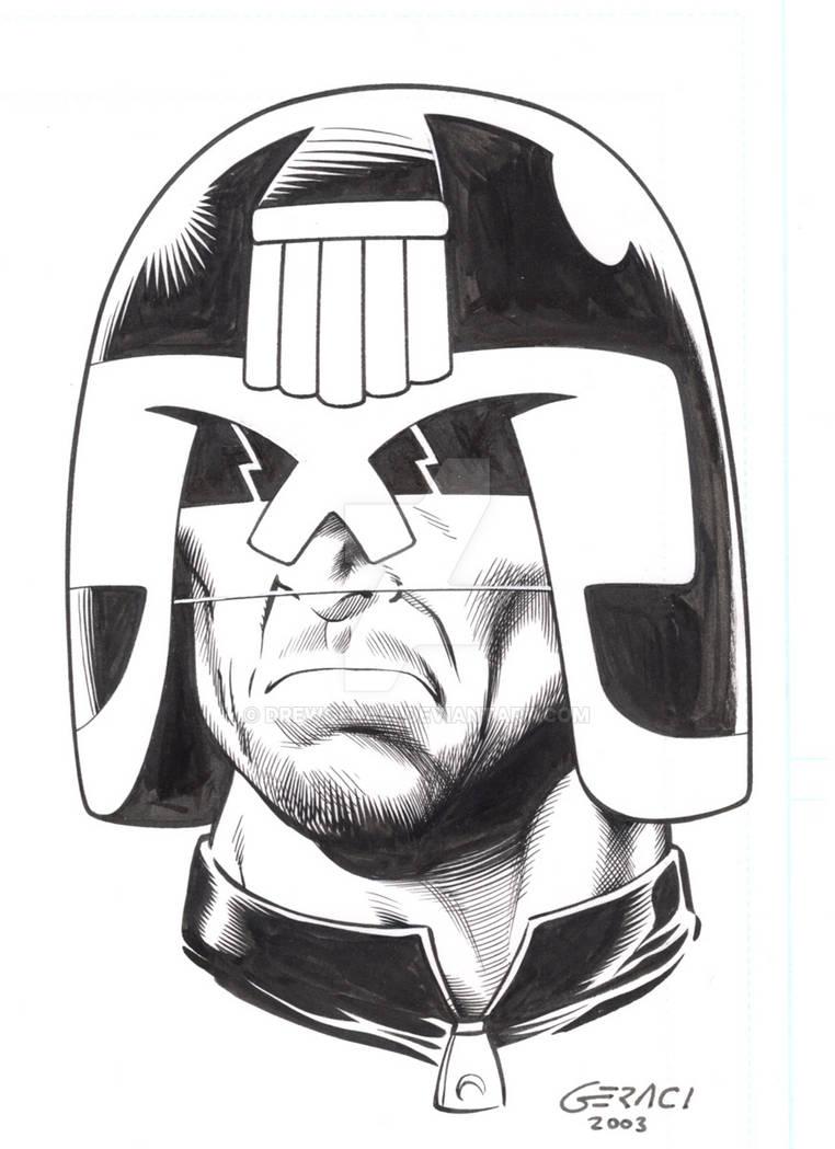 Judge Dredd by DrewGeraci