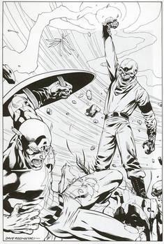 Captain America vs. The Red Skull's Cosmic Cube