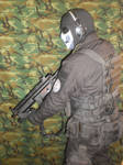 Ghost call of duty night suit