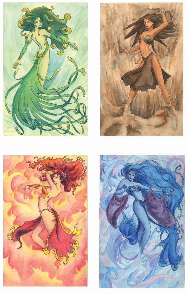 Elementals by VeijaNikita
