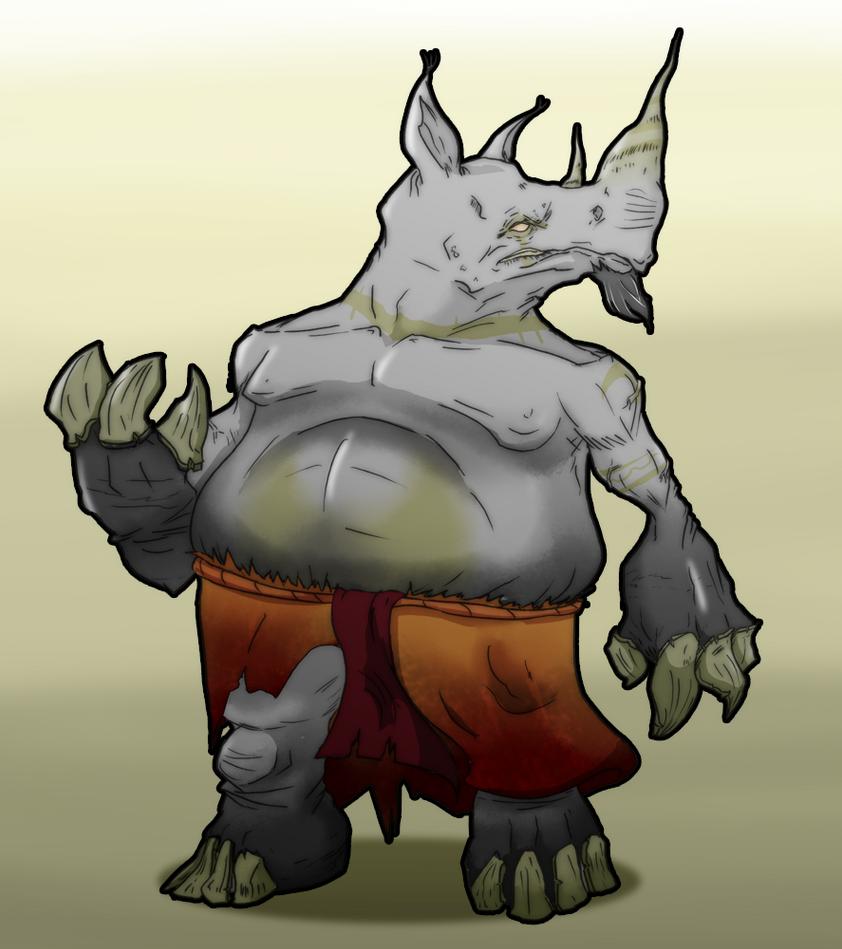 Rhino by MAGAM88