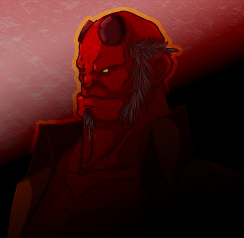 Hellboy by MAGAM88