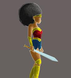 African Wonder Woman by lynchment