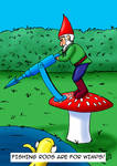 Gnome with a Harpoon