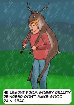 Reindeer Rain-Gear