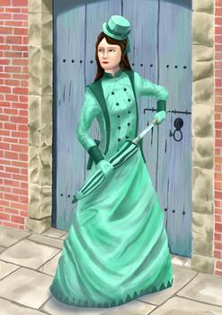 Steampunk Swordmistress