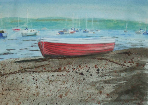 Red Boat at Hardway