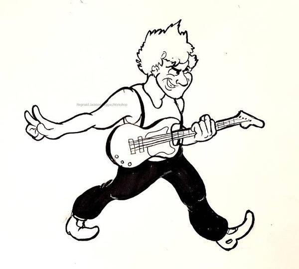 Inktober (Day 16) Danny Elfman by ReggieJWorkshop