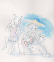 Zoot Cat (WIP) by ReggieJWorkshop