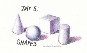 Drawtober (Day 5): Shapes