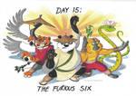Drawtober (Day 15): The Furious Six