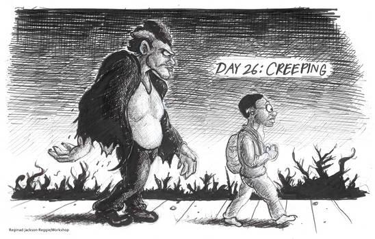 Drawtober (Day 26):Creeping