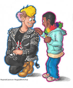 A Kid Meets a Punk