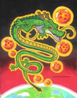 Shenron The Legendary Dragon by ReggieJWorkshop
