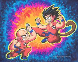 Goku Vs Krillin by ReggieJWorkshop