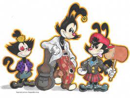 Punk Styled Warners by ReggieJWorkshop