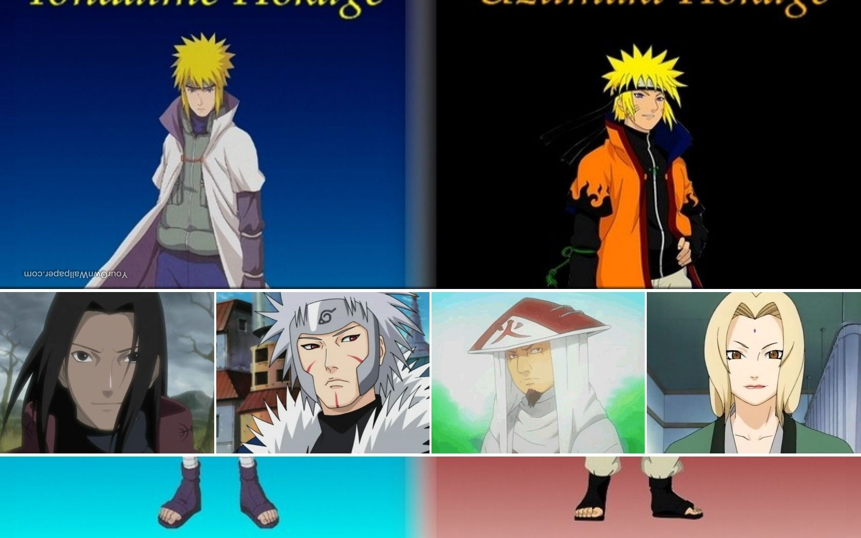 Images For > Hokages Wallpaper