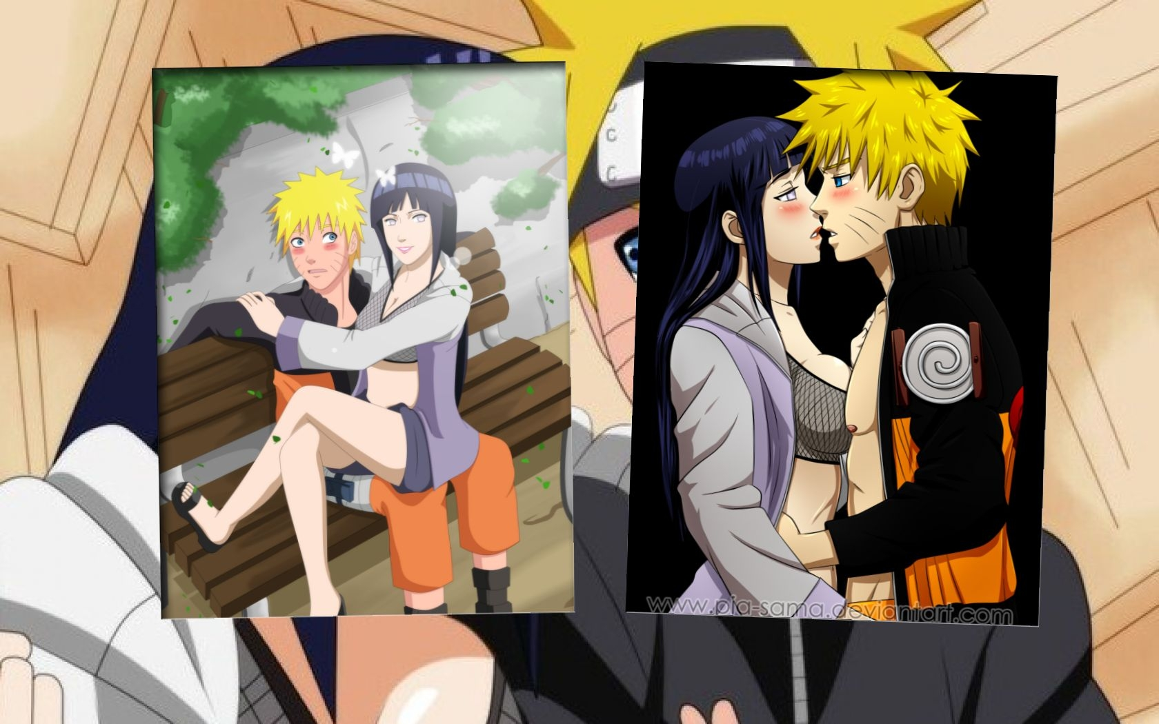 Most Inspiring Wallpaper Naruto Love - naruto_and_au_hinata_wallpaper_by_weissdrum-d5absgx  Perfect Image Reference_503425.jpg
