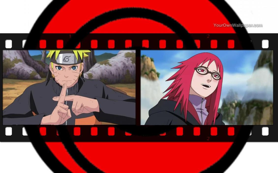 Naruto uzumaki and karin uzumaki wallpaper 3 by weissdrum