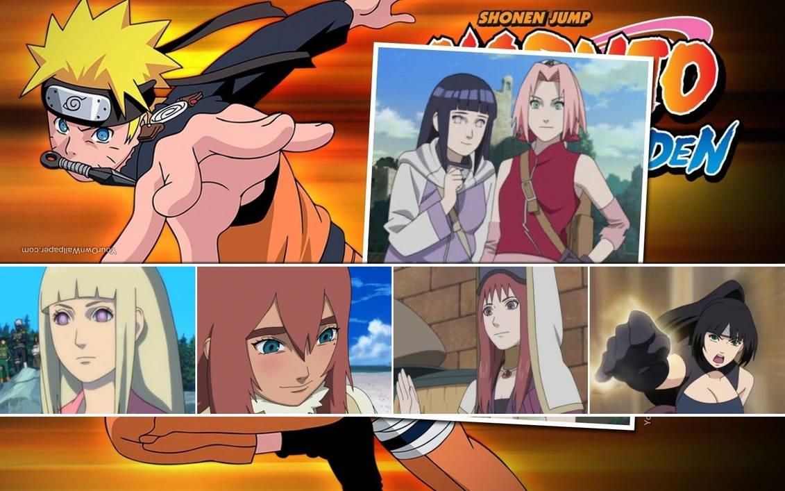 Naruto's Women Wallpaper by weissdrum on DeviantArt