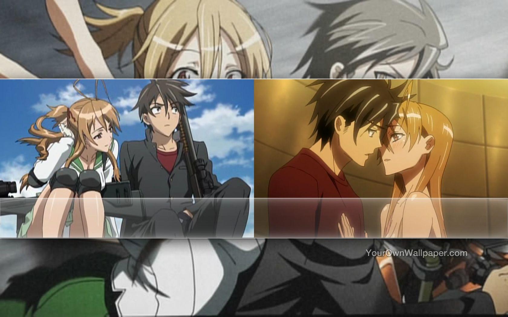 Takashi and Rei Wallpa...